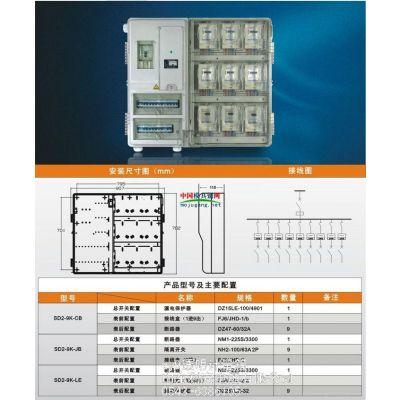 供应SMC玻璃钢电表箱