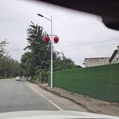 沧州路灯厂 太阳能路灯安装 一体化户用路灯 庭院灯 40W