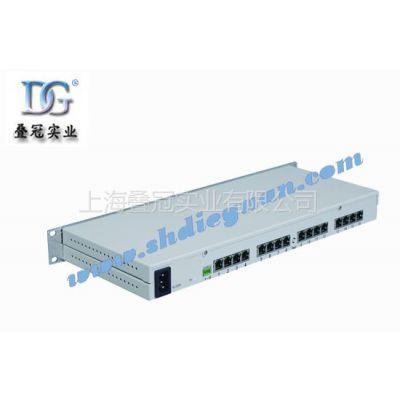 供应十六路视频一路数据100M网络数字光端机
