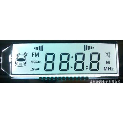 供应时钟定时液晶显示模块 段码液晶显示模块生产厂家lcd液晶屏