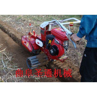 厂家直销柴油/汽油开沟机 高配置葱姜种植培土机 果园管理机 圣通