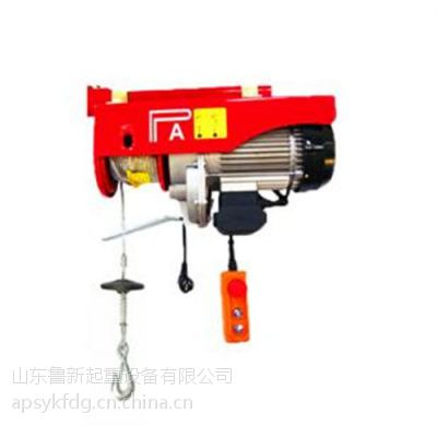 淄博起重设备|鲁新起重机(图)|轻小型起重设备供应