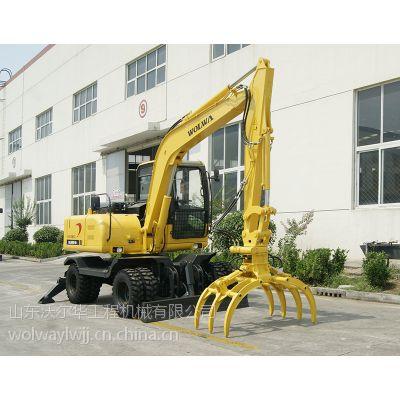 挖掘机甜馨不在上节目沃尔华挖掘机DLS880-9B