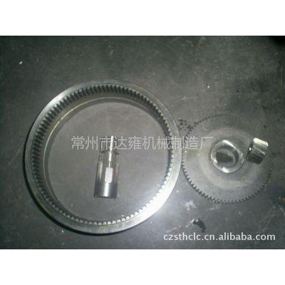 供应叉车驱动轮高精度齿轮,齿轴,内齿轮总成等各种传动件