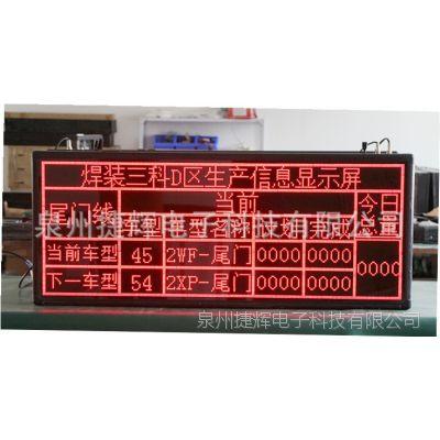 LED电子看板 工厂计数显示屏 智能化LED看板 工业生产看板