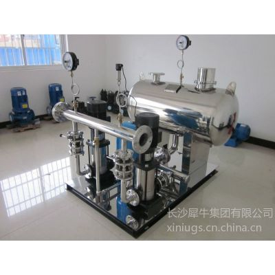 供应湖南郴州无负压(无吸程)管网叠压供水设备