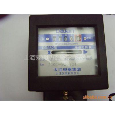 供应火表正泰单相三相电度表电子表单相电能表DD282型