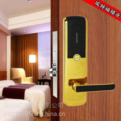 供应酒店式公寓门锁,宾馆出租屋专用门锁//电子感应磁卡门锁
