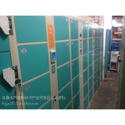 供应乌鲁木齐市硕宝牌条码式36门电子储物柜