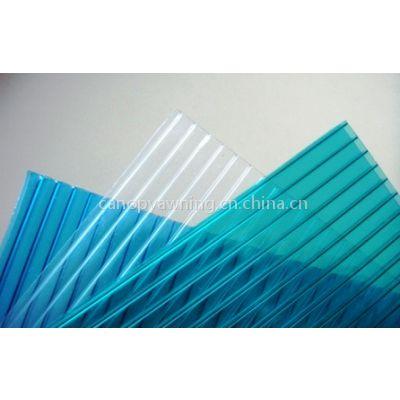 供应阳光板,PC阳光板,聚碳酸酯板,PC中空板,遮阳板,采光板,建筑采光板,厂房温室专业塑料采光板