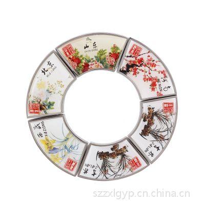 深圳集团公司徽章 员工胸牌 金属徽章 卓鑫伦专业定制