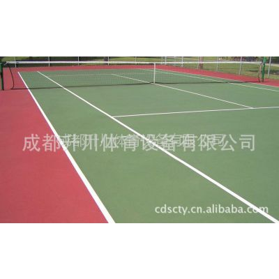 供应网球场设计pu网球场 pu材料 pu颗粒