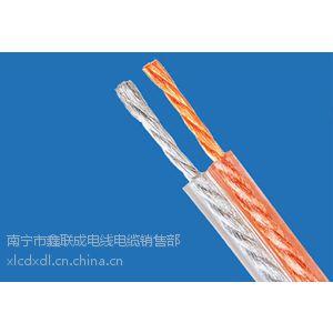 供应陕西工程专业用轻型透明聚乙烯绝缘金银音响线RVH2*1.5
