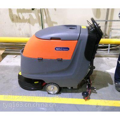 洗地吸干机,洁优德洗地机