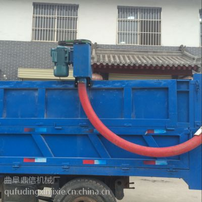 小型车载吸粮机 移动式软管吸粮机 粮库码头粮食输送机 鼎信