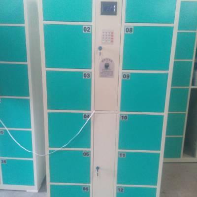 辽宁车站电子存包柜 24门自助存包柜行李柜 spcc板材 低功耗设计