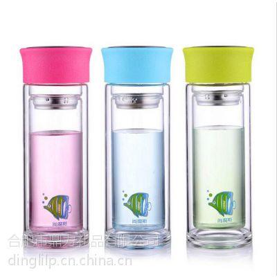 合肥哪里可以给玻璃杯保温杯印字?哪里批发定制广告玻璃杯?
