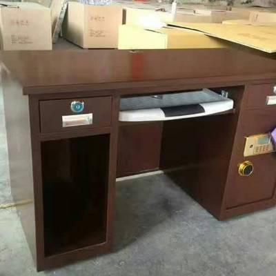 广西双门办公财务收银桌 双电子带投币 重量达到200公斤