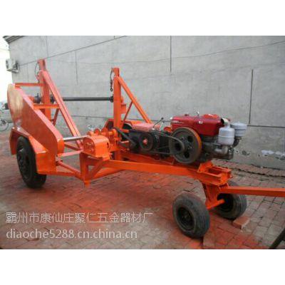 多功能多用途电缆炮车 收放线两用式电缆拖车 机械式 5T炮车