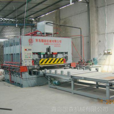 供应青岛国森生产高精度竹地板单板机