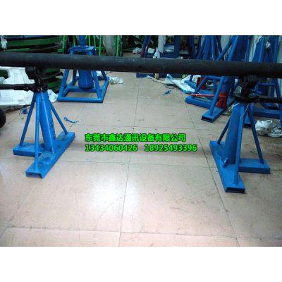 供应1-3吨手摇电缆放线架,电线放线架,横杠带滚轮,放线轻便