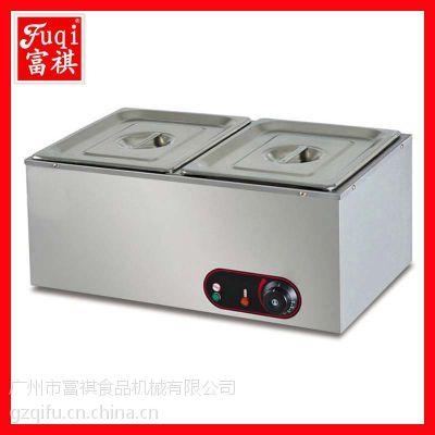 富祺EH-2二盆电热汤池 保温汤锅 汤锅厂家 品质上乘