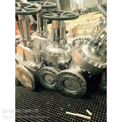 美标碳钢闸阀 API 碳钢法兰闸阀