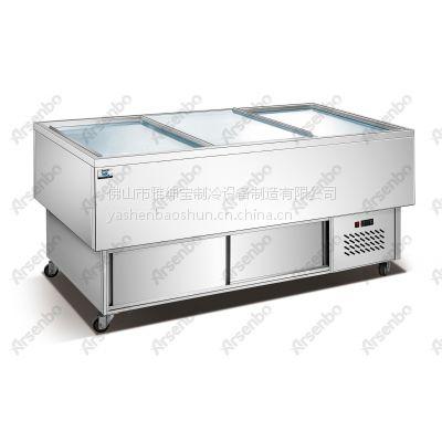 供应湛江海鲜酒店制冷设备 海鲜干货储存柜 海鲜柜尺寸 海鲜工作台