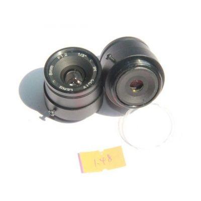 供应上饶泰华 安防 F1.4-8mm 监控镜头 光学镜头