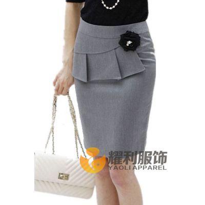 供应广州西裙定制|女裙定做|女式西服套裙|耀利品牌