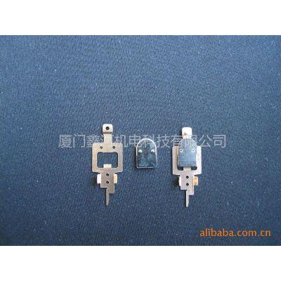 供应T73继电器触点弹簧片 冲压铆接银触点衔铁 高精度技术生产