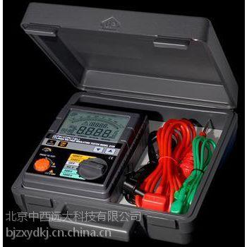中西现货高压绝缘电阻测试仪 型号:Kyoritsu/3125库号:M365748
