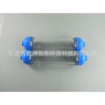 供应家用净水器T33滤壳2分接口DIY滤芯空壳耐高压批发零售