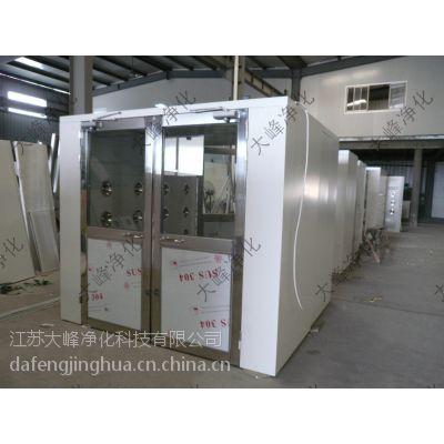 大峰净化 供应 彩钢板电子互锁 通道风淋室