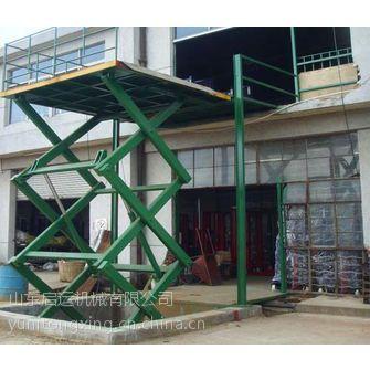 天津市东丽 西青区热销启运剪叉式升降机大吨位升降平台 简易货梯