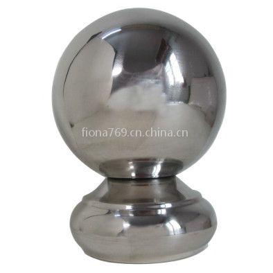供应广东直径52mm亮光不锈钢圆球座