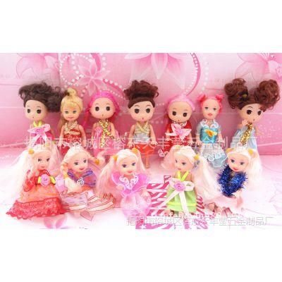 时尚11厘米小凯莉、迷糊娃娃衣服 小芭比娃娃小裙 小芭芘公主裙子