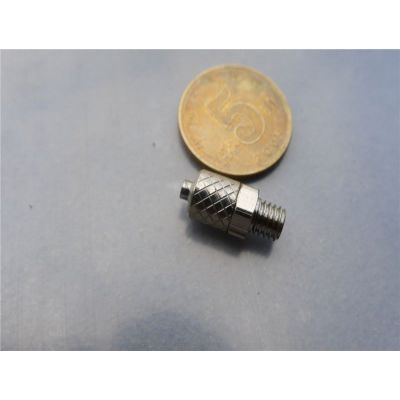 供应微型快拧接头 螺母锁紧式终端接头 迷你型直通接头 全铜接头 PC6-M5