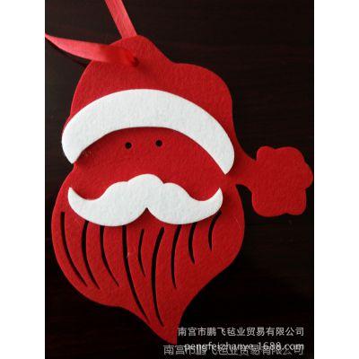 批发出售 供应圣诞节饰品挂件 立体圣诞老人挂件出售