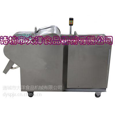 平刀输送带式切菜机 大洋DQC型豆干切片机