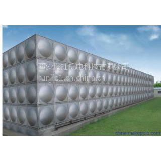 韩城玻璃钢水箱经销商 RV-98韩城消防水箱 润捷水箱