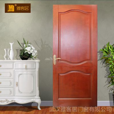 【特价木门】武汉雅客居木门 原木门厂 实木烤漆门 卧室定制门