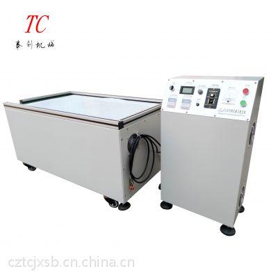 常州泰创机械 供应TC-H120磁力抛光机、型材抛光去毛刺机 内孔交叉孔内壁去毛刺机