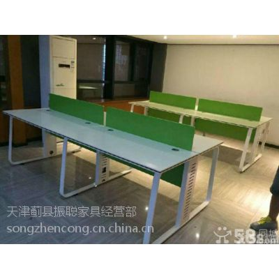 新款简约办公桌 话务桌 会议桌椅 振聪办公家具出售定制