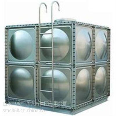 拉伸钢板水箱,中威空调(图),搪瓷拉伸钢板水箱
