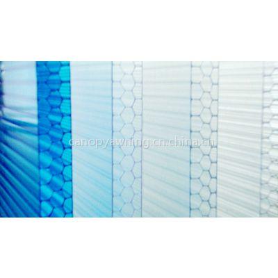 蜂窝板,PC蜂窝板,阳光板,聚碳酸酯板