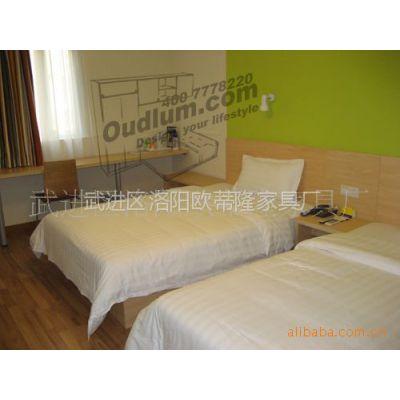 供应板式酒店套房、家具定制、床、行李柜、工程配套(图)
