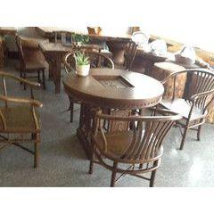供应鸡翅木圆桌台 茶几 方桌台 实木家具