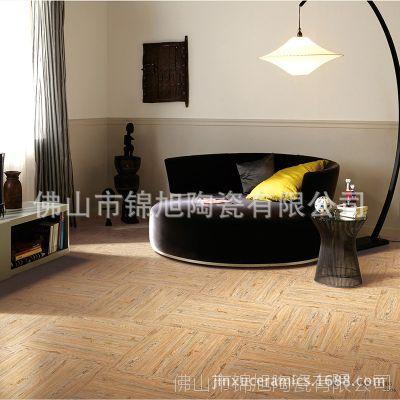家装建材木纹仿古砖600x600mm通体瓷质防滑地板砖 卧室瓷砖地板砖