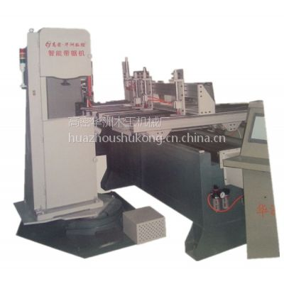 厂家直销华洲数控带锯机木工曲线锯弯锯开榫机打卯机(高端智能化M321)